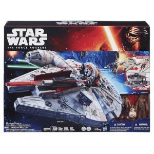 [Com AME R$180 - 70%] Nave Millenium Starwars Episódio Vii Hasbro | R$600