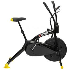 Bicicleta Ergométrica Air Bike A5 Aço Carbono Spinning Kikos Fitness | R$791