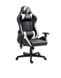 Cadeira Gamer Mamba Negra Snake Gaming Reclinável 9183 - Branca