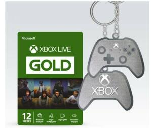 [Prime] Microsoft Xbox Live Gold - 12 Meses + Chaveiro - R$133