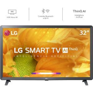 [Ame 655] por Smart TV Led 32'' LG 32LM625 HD Thinq AI Wi-Fi - R$805