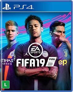 FIFA 19 PS4 Mídia física por R$40