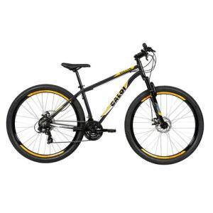Bicicleta Mountain Bike Caloi Vulcan Aro 29 - Cinza