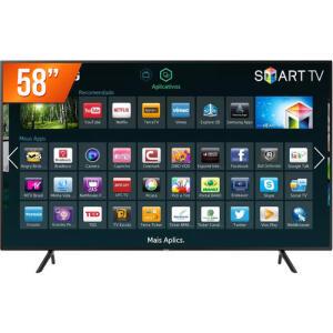 Smart Tv Led 58'' Ultra Hd 4k Samsung 58Nu7100 R$ 2506