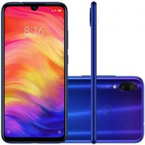 Smartphone Xiaomi Redmi Note 7 128GB 4GB RAM Azul - R$1075