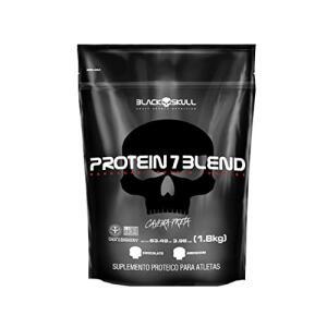 Protein 7 Blend - Chocolate - Black Skull, 1800g