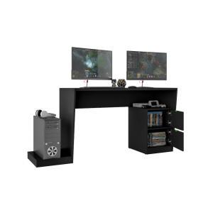 Mesa para Computador Gamer BMG 01 - BRV Móveis - PRETO