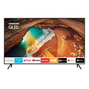 "TV QLED 55"" Samsung Smart TV Q60 4K 4 HDMI 2 USB 120Hz  - R$3.399"