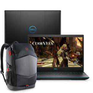 [4909 com AME] Notebook Gamer Dell G3-3590-m30bp 9ª Geração I7 8gb 1tb+128gb Ssd Gtx 1660ti Fhd  + Mochila Gamer - R$5455
