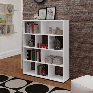 Estante Livreiro Book Organizador Branca - Artely | R$131