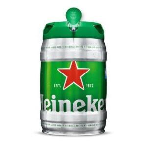 Cerveja Heineken Barril - 5 litros - Comprando 2 tem Frete Grátis