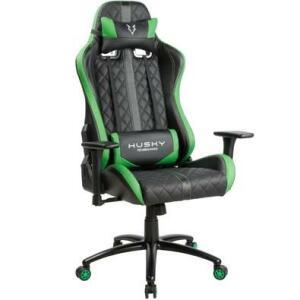 Cadeira Gamer Husky Hailstorm, Black Green | R$599