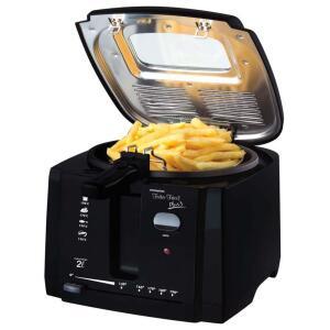 Fritadeira Britânia Frita Fácil Plus 3 Preta - 2L | R$110