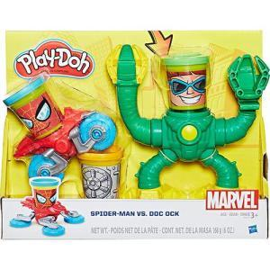 Conjunto Play-Doh Spiderman Vs Doc Ock - Hasbro | R$43