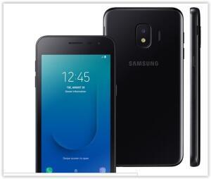 Smartphone Samsung Galaxy J2 Core Preto com 16GB R$ 382