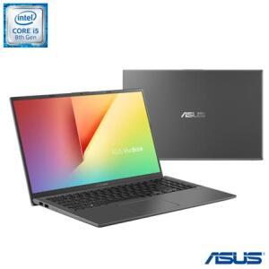 Notebook Asus Vivobook 15 X512 i5-8265u 8 GB RAM MX230