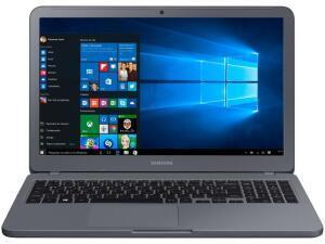 "Notebook Samsung Core i3 4GB 1TB FHD 15.6"" W10 Essentials E30 - R$1565"
