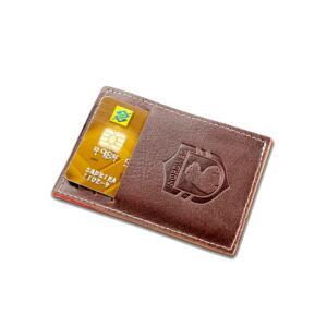 Carteira em couro compacta Party Wallet Nordweg - Italiano - R$32