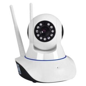 Câmera Wireless Ip Hd720p Noturna Sensor Infravermelho Wifi Profissional R$35