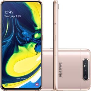 [CC Shopt/AME R$ 1872 ]Smartphone Samsung Galaxy A80 128GB R$ 1950