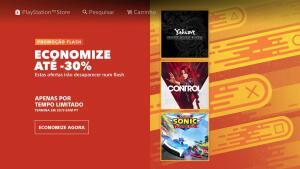 Promoção Flash PSN
