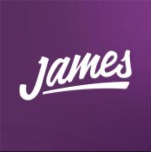 R$50 OFF no James Delivery