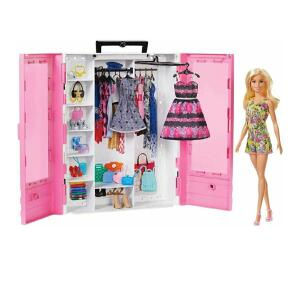 Closet de Luxo + boneca Barbie MATTEL - R$153