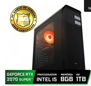 Pc Gamer T-Gamer Edition Intel Core I5 9400F / Rtx 2070 Super 8GB / DDR4 8Gb / Hd 1tb / 600W - R$4389