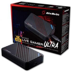 Placa de Captura Avermedia 4K Live Gamer Ultra, Interface USB 3.1, GC553 - R$1217