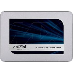 SSD Crucial MX500 500GB Leitura 560MB/S Gravação 510MB/s SATA 3 - R$338
