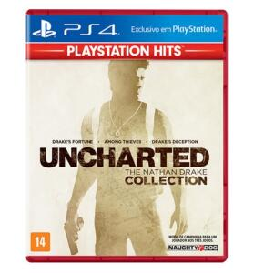 [1ª Compra] Uncharted Nathan Drake Collection - PS4