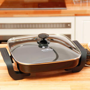 Panela Elétrica Quadrada Cook Chef 127V Fun Kitchen by Britânia - R$129