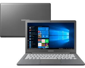 """[25% de Ame] Notebook Flash F30 Intel Celeron 4GB 64GB SSD Full HD 13.3"""" W10 - Samsung - R$1346"""