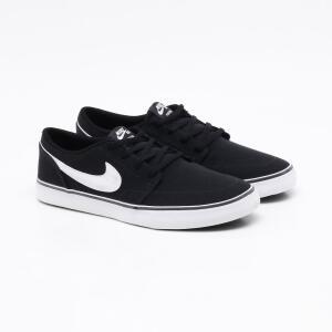 Tênis Nike SB Portmore II Preto Masculino - R$140