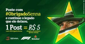 Doe grátis e concorra a 600 pares de Ingressos para o GP do Brasil