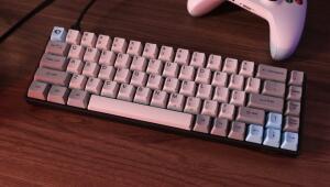AKKO 3068 Mechanical Keyboard Cherry Switch Retro 68 Keys - Platinum Brown Switch