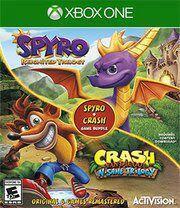 Pacote de Jogo Spyro + Crash Remastered