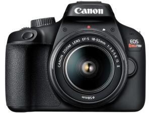 [Clube Da Lu + APP] Câmera Digital Canon Semiprofissional - EOS Rebel T100 | R$1.043
