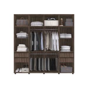 [CC Americanas] Guarda roupa 8 portas Caravalho Percasa - R$472