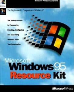 Livro - Microsoft Windows 95 Resource Kit - R$86