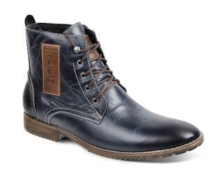 Bota Dress Boot Masculina Sandro Moscoloni Prime Azul R$224