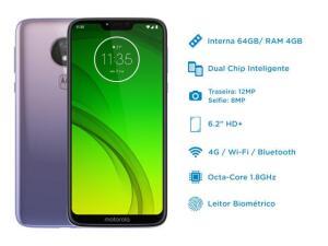 [APP-Magalu ] - G7 Power 64GB lilas