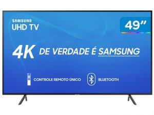 "[APP MAGALU] Smart TV 4K LED 49"" Samsung UN49RU7100GXZD R$1799"