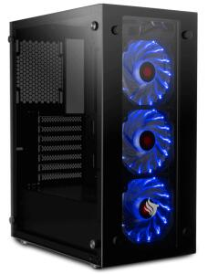 PC GAMER PICHAU, I3 9100F, RX 580 4GB SAPPHIRE NITRO+, 8GB DDR4, SSD 480GB, 500W, MAGPIE III