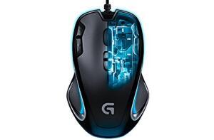 Mouse Gamer Logitech G300S - 2500 DPI
