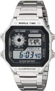 Relógio Masculino Digital Casio Multifunção AE-1200WHD- | R$229