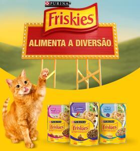 Promoção friskies alimente a diversão