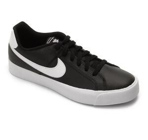 Tênis Nike Court Royale Ac Masculino PRETO COM BRANCO