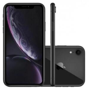Smartphone Apple iPhone XR 64GB Desbloqueado Preto | R$3.770