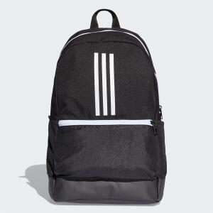 Mochila Adidas Classic BackPack 3 Stripes - Preto e Branco